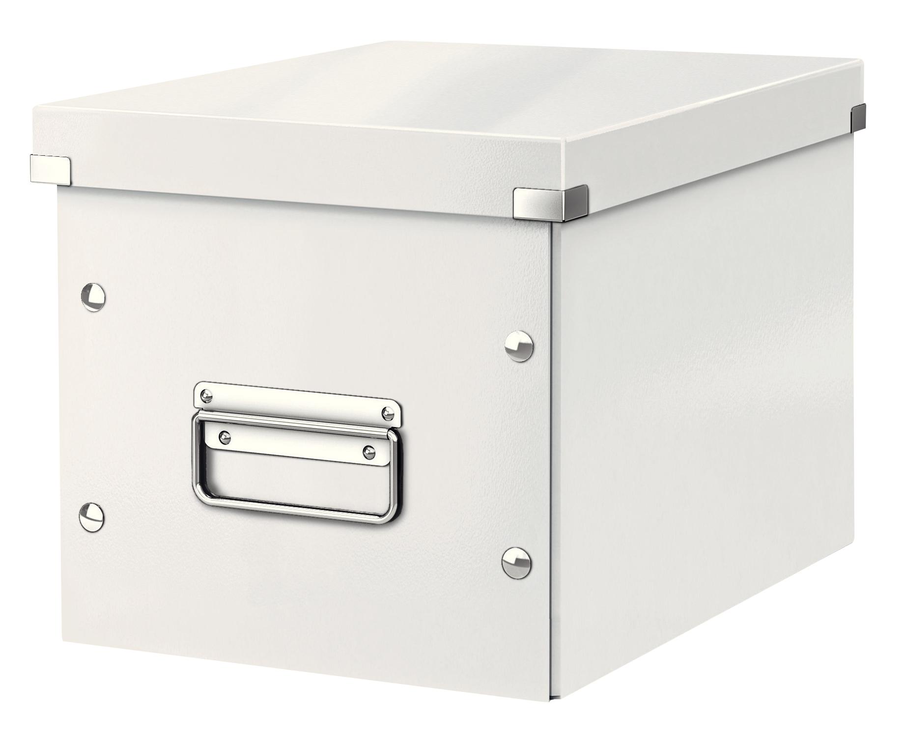 LEITZ Arkivboks Click & Store Cube Medium Hvit