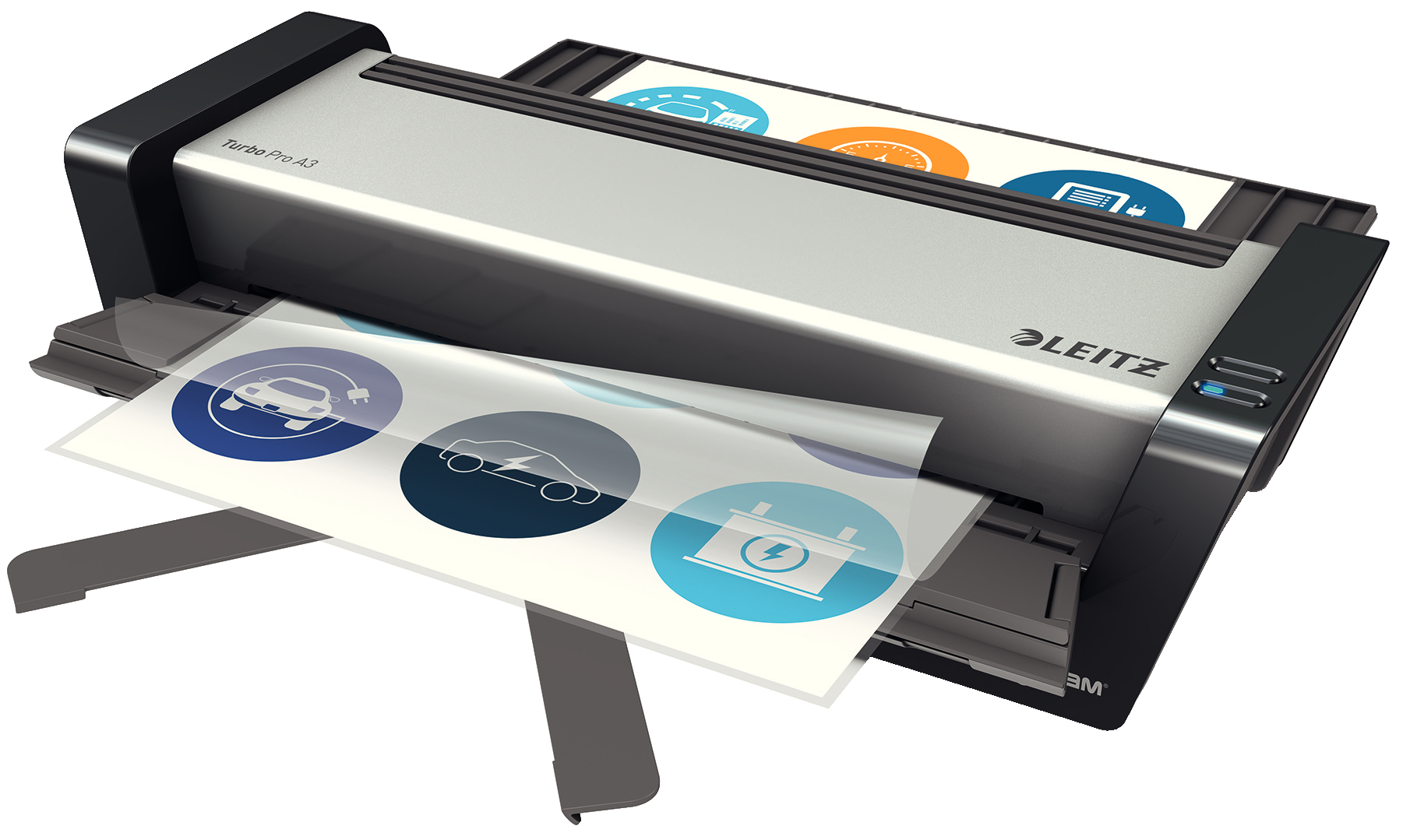 Lamineringsmask. iLAM Touch Turbo Pro A3