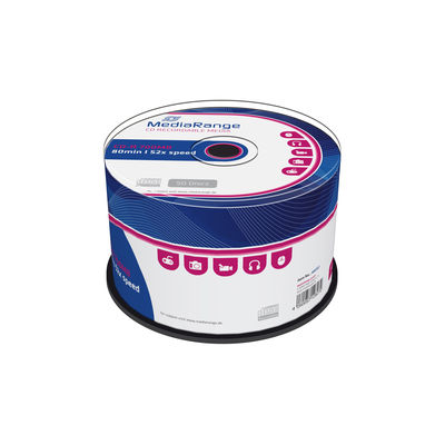 MediaRange CD-R 700MB/80min 52x spindle (50)