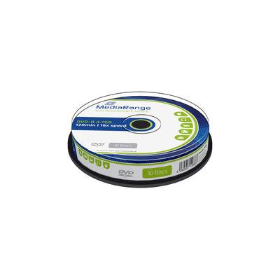 MediaRange DVD-R 16x 4,7GB spindle (10)