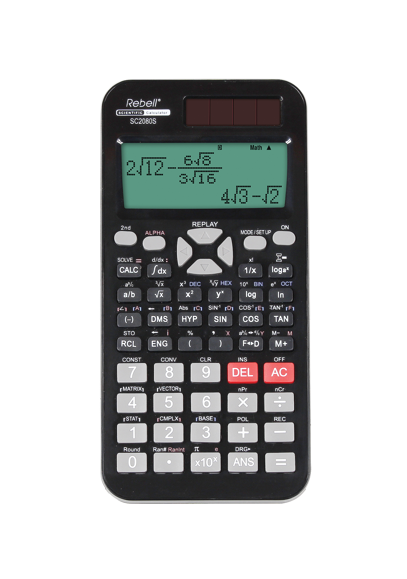 Rebell technical calculator SC2080S