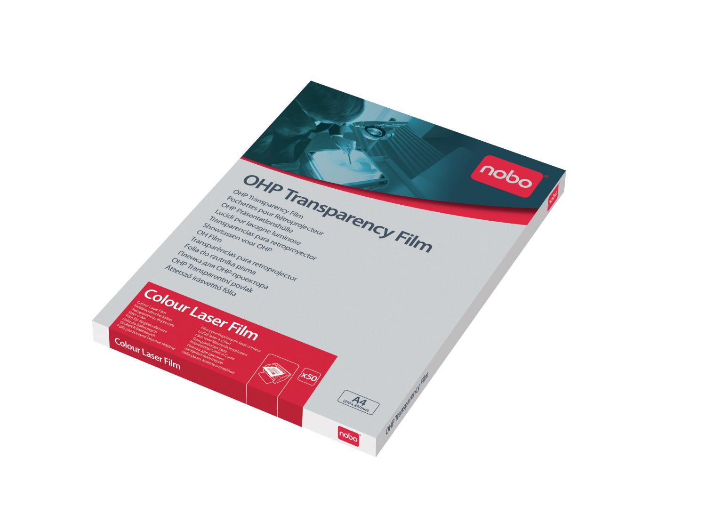 A4 OHP film fargelaserskriver Nobo 100 mic (50)