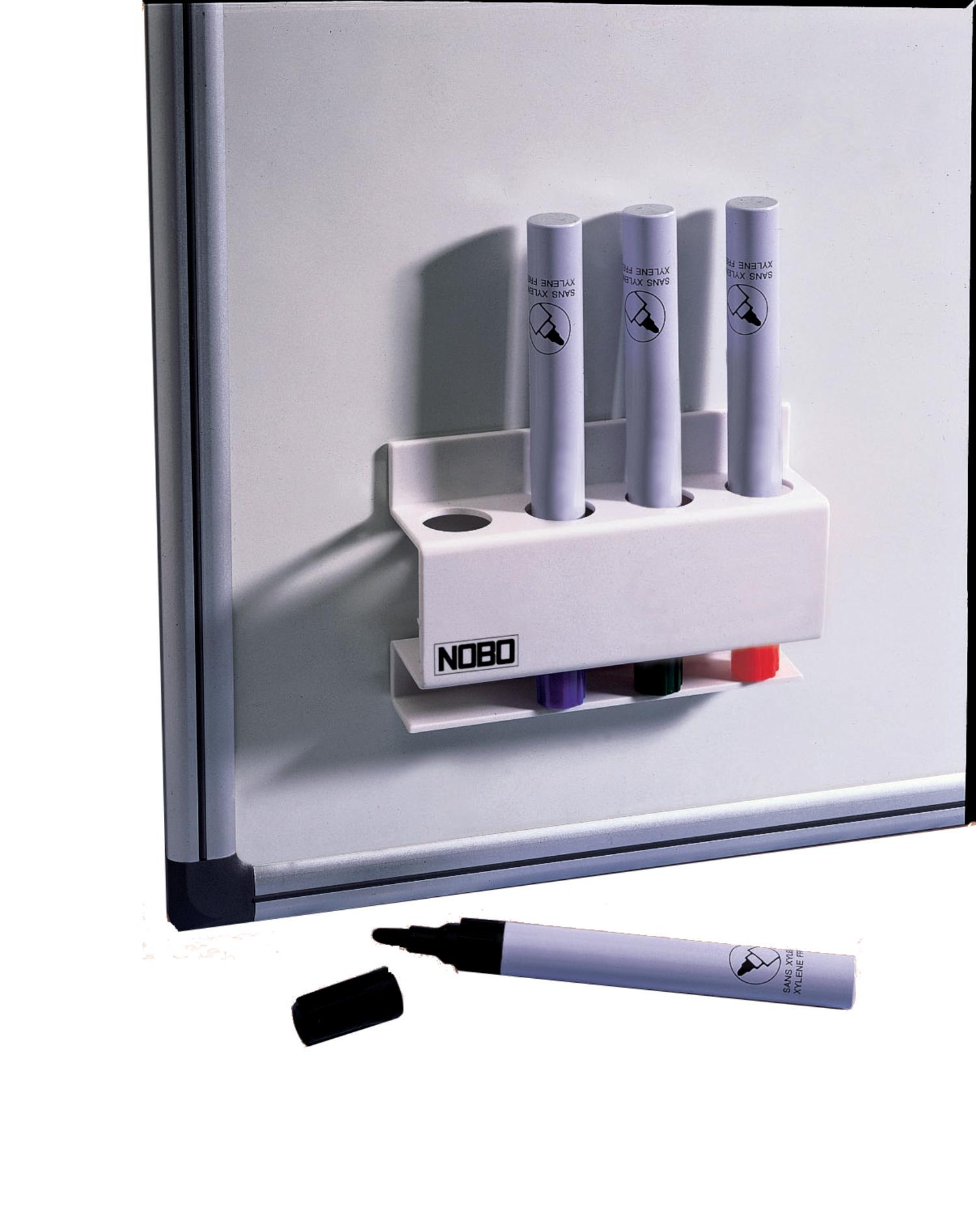 Penneholder magnetisk Nobo for 4 penner
