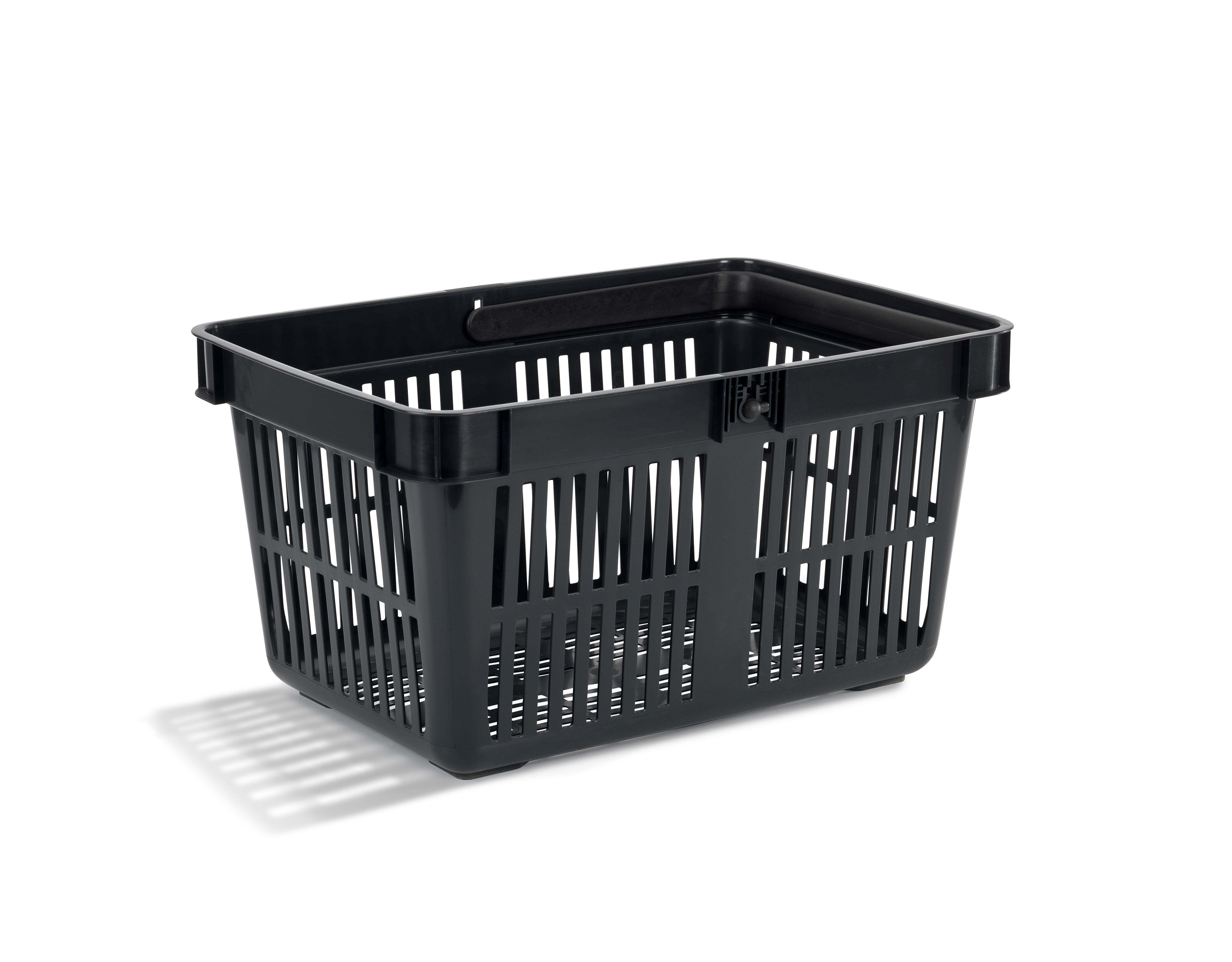 Nordiska Plast  Handlekurv 27 liter sort