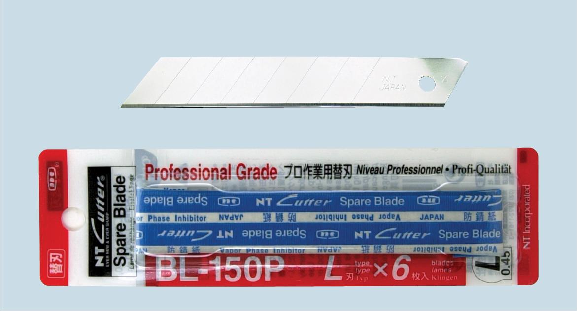 NT-Cutter Reserve blader 18mm BL-150P 6 stk i pakken