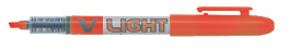 Pilot Overstrykningspenn V-Liquid viklet spiss oransje