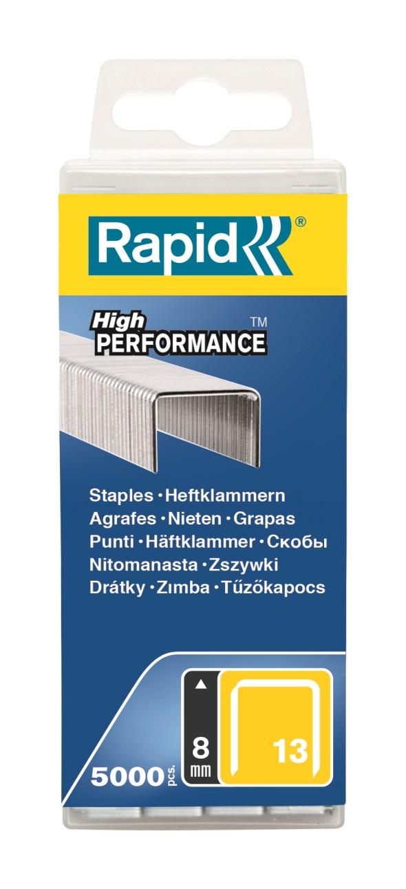 Rapid Stifter 13/8mm PP (5000)