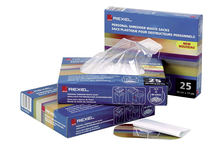 Rexel Plastikk avfallsposer 175l (100)