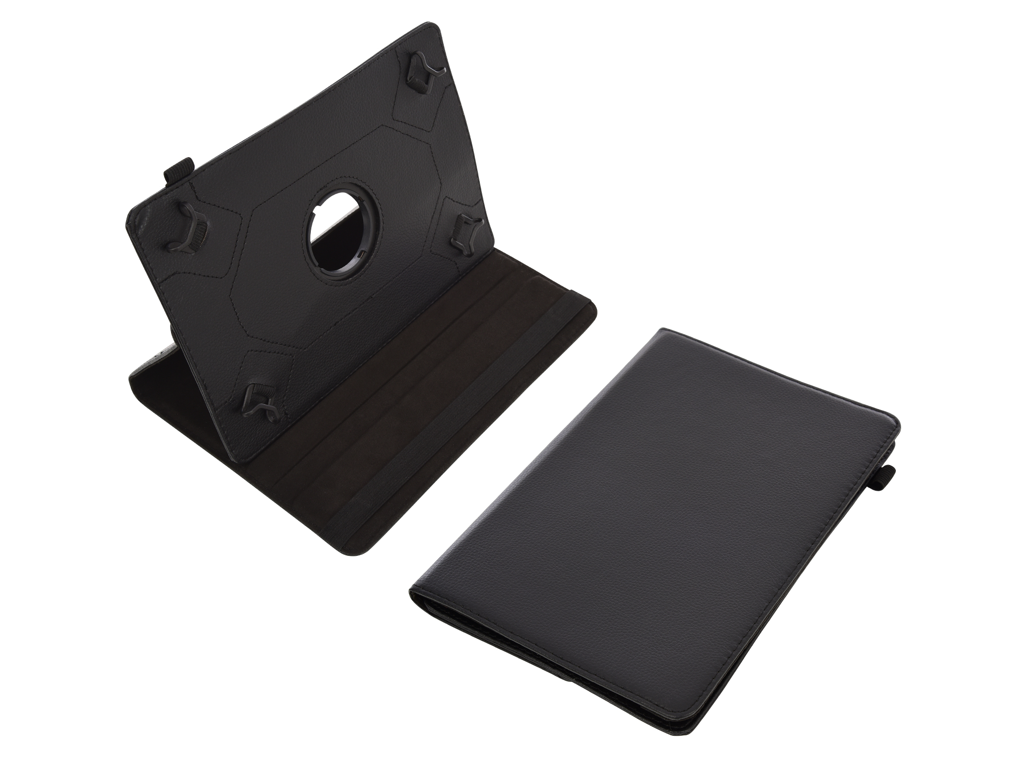 iPad 2017/2018 9.7'' Rotating Cover Stand, Black