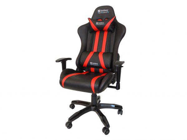 Sandberg - Commander Gaming Chair Black/Red