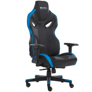 Sandberg - Voodoo Gaming Chair - Black/Blue