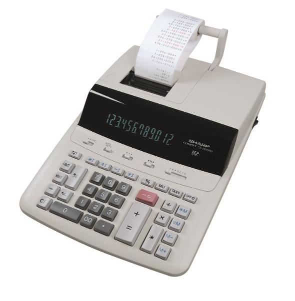 SHARP Udskrivningslommeregner CS-2635RHGYSE