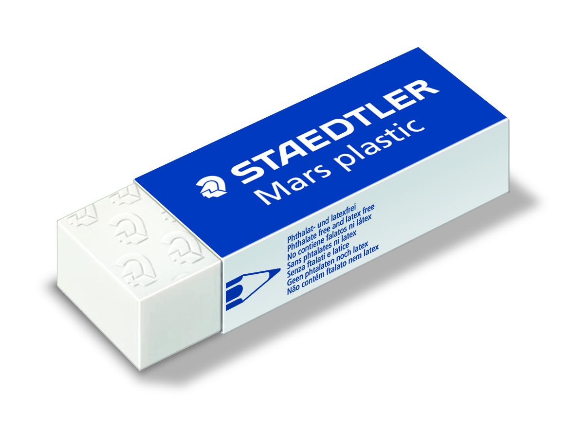 STAEDTLER Viskelær Mars Plastic 65x23x13mm