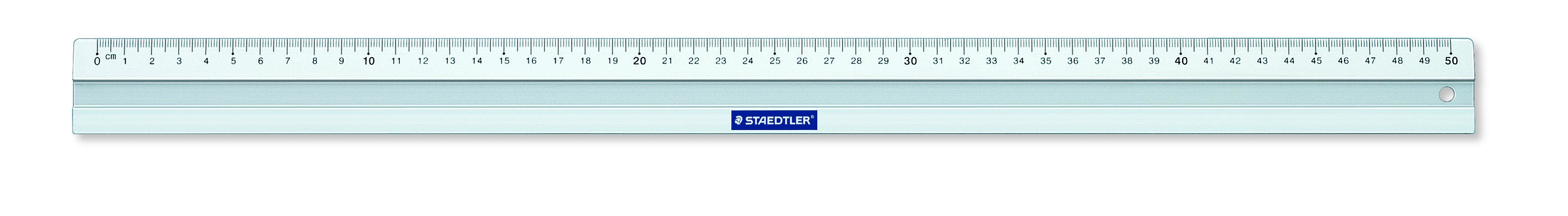 STAEDTLER Linjal metall 50cm