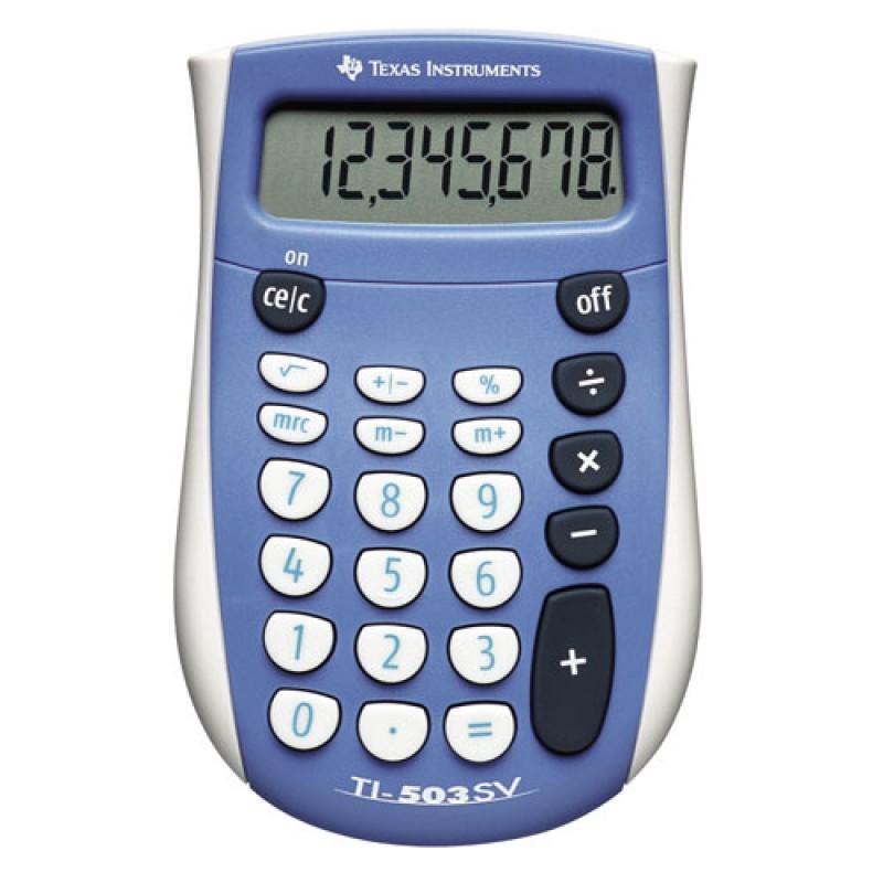 Texas TI-503 SV Kalkulator blisterpakket
