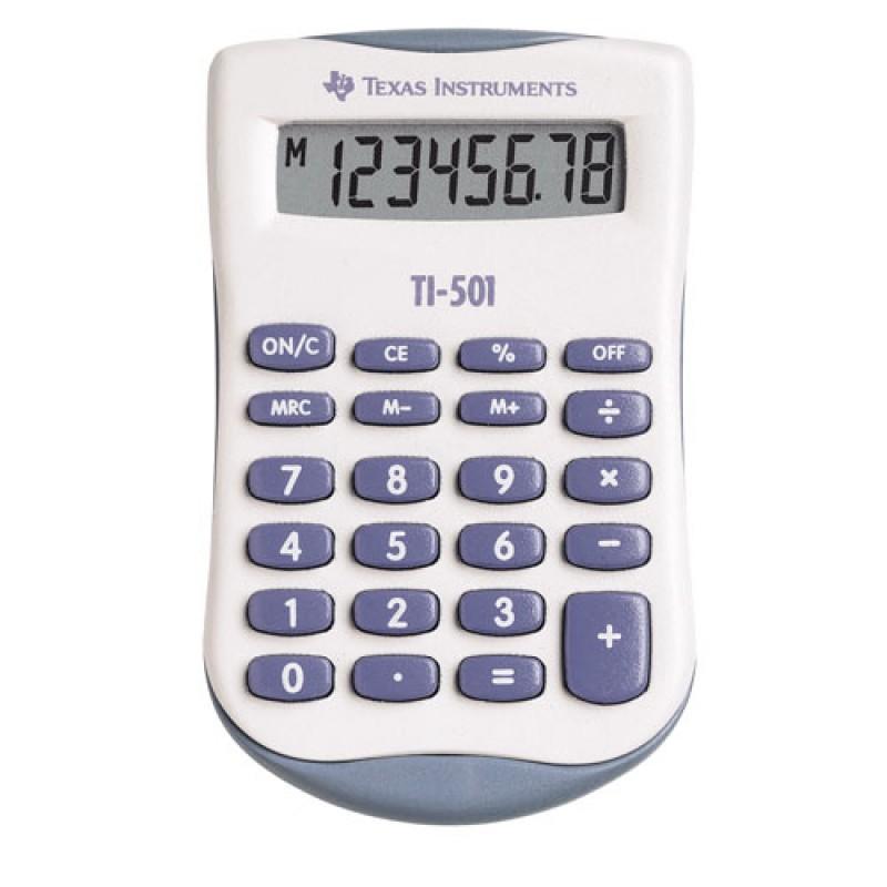 Texas TI-501 Kalkulator blisterpakket