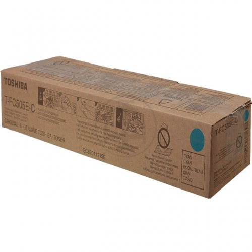 Toshiba toner cartridge cyan TFC505EC