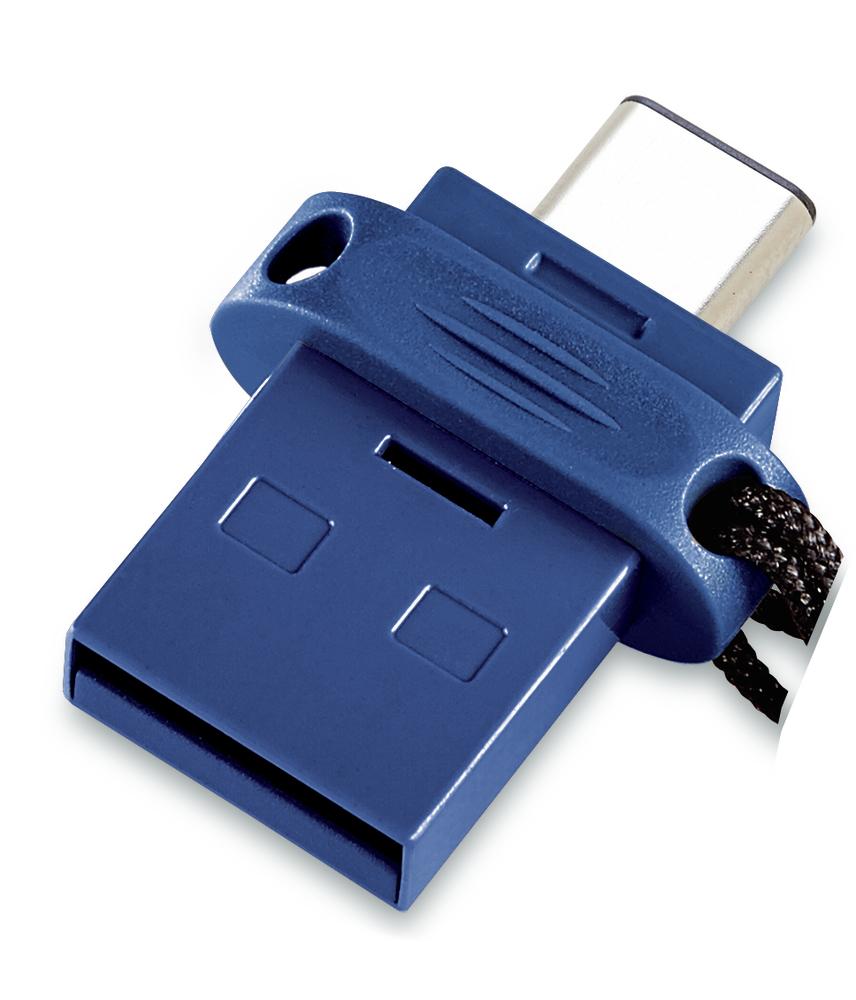 Verbatim 32GB Dual Minnepenn USB 3.0/USB-C Sort