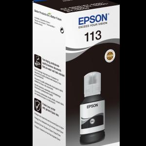 113 EcoTank Pigment Black ink bottle