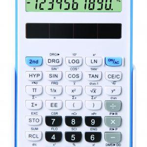 Fiamo Eco 30 Anti-bacterial Calculator, Blue
