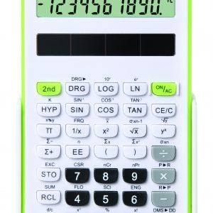 Fiamo Eco 30 Anti-bacterial Calculator, Green