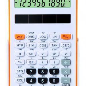 Fiamo Eco 30 Anti-bacterial Calculator, Orange