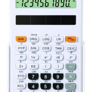 Fiamo Eco 30 Anti-bacterial Calculator, White