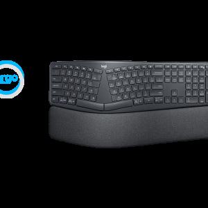 K860 ERGO Keyboard, Graphite (Nordic)