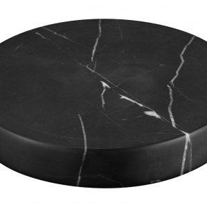 Sandberg Marble Stone Charger, Black
