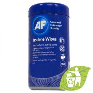 AF Isoclene Isopropanol Rengjøringsservietter  for overflate