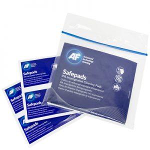 AF Safepads - IPA Impregnert Rense Pads (10)