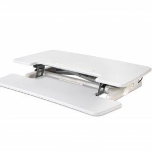 Adjustable Sit-Stand Desk Riser 2, White