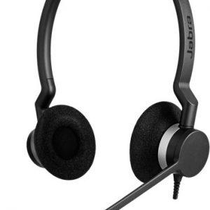 Jabra BIZ 2300 Headset, Sort (Duo)