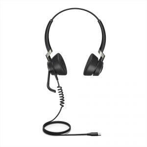 Jabra Engage 50 USB-C Headset, Black (Duo)