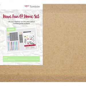 Tombow HaveFun@Home Set Watercoloring